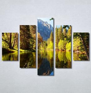 Slike na platnu Jezero Nina30377_5