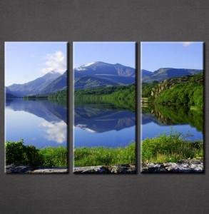Slike na platnu Jezero Nina3085_3