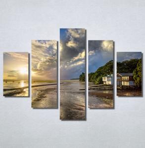 Slike na platnu Kuća na plaži Nina30209_5