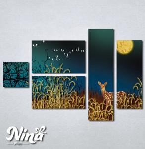 Slike na platnu Lane u šumi Nina301_5