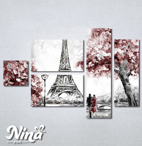 Slike na platnu Ljubav u Parizu Nina319_5