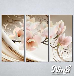 Slike na platnu Magnolija apstrakcija Nina335_3