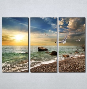 Slike na platnu More i galebovi Nina045_3