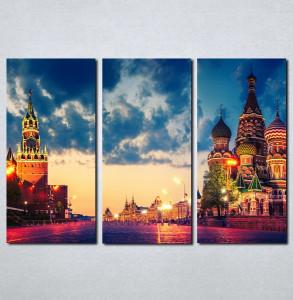 Slike na platnu Moskva Crveni trg Nina049_3