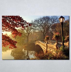 Slike na platnu Most i priroda Nina063_P