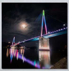 Slike na platnu Most Nina30279