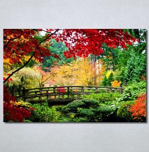 Slike na platnu Most u parku Nina30375_P