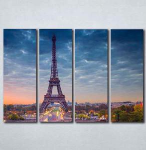 Slike na platnu Pariz grad Nina089_4