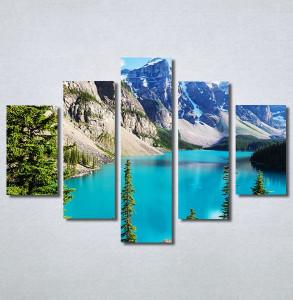 Slike na platnu Planinsko jezero Nina30297_5