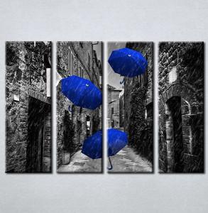 Slike na platnu Plavi kisobran Nina212_4