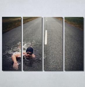 Slike na platnu Plivač Nina30139_4