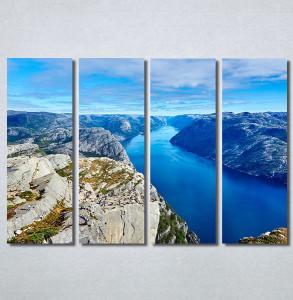 Slike na platnu Poged sa planine Nina30265_4