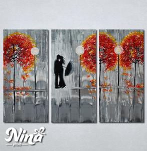 Slike na platnu Poljubac Nina280_3