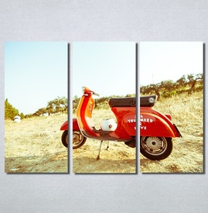 Slike na platnu Skuter Nina30225_3
