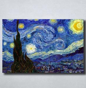 Slike na platnu Starry Night Vincent Van Gogh Nina149_P