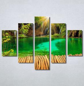Slike na platnu Tirkizno jezero Nina30378_5
