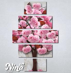 Slike na platnu Ukrasno drvo Nina340_5