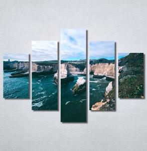 Slike na platnu Uvala Nina30314_5