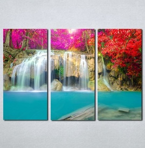Slike na platnu Vodopad Nina079_3