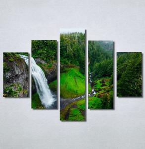 Slike na platnu Vodopad priroda Nina30323_5