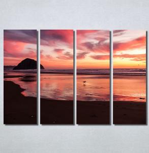 Slike na platnu Zalazak sunca na moru Nina30167_4