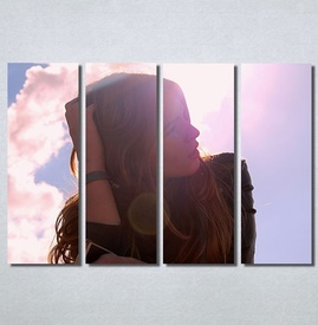 Slike na platnu Zamisljena devojka Nina30212_4
