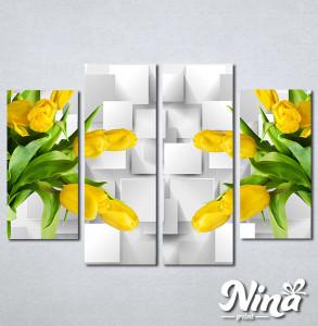 Slike na platnu Zute lale Nina322_4