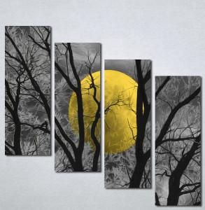 Slike na platnu Zuti mesec Nina207_4
