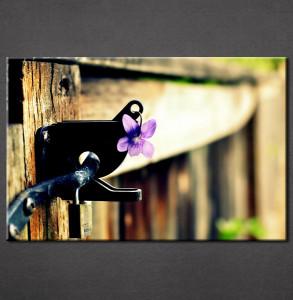 Slika na platnu Ljubicasti cvet Nina3053_P