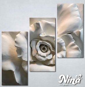 Slike na platnu 3d Ruža Nina300_3