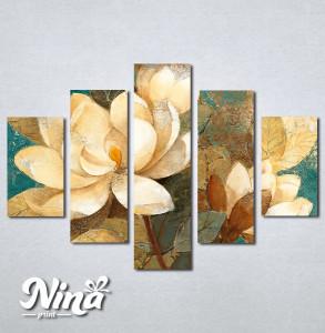 Slike na platnu Bež art ruže Nina288_5