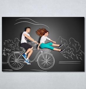 Slike na platnu Bicikl Nina30136_P
