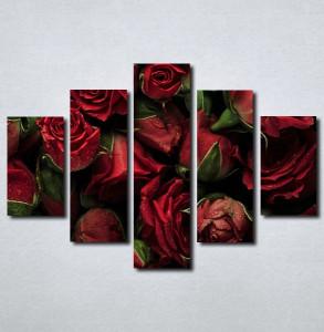 Slike na platnu Buket crvenih ruza Nina143_5