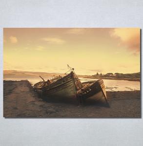 Slike na platnu Čamac na obali Nina30192_P
