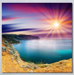 Slike na platnu Čarobni zalazak sunca Nina30280