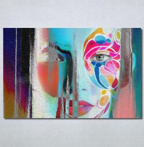 Slike na platnu Color face Nina30238_P