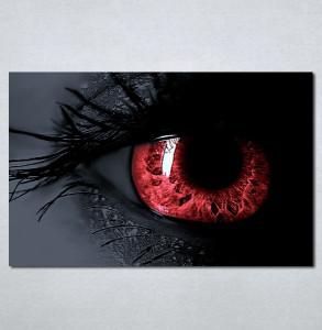 Slike na platnu Crveno oko Nina125_P