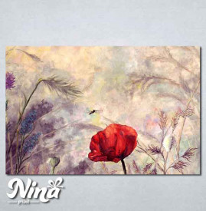 Slike na platnu Cvet bulke Nina284_P