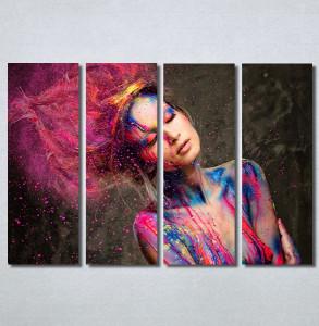 Slike na platnu Devojka boje Nina30372_4