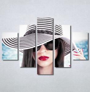Slike na platnu Devojka sa šeširom Nina30365_5