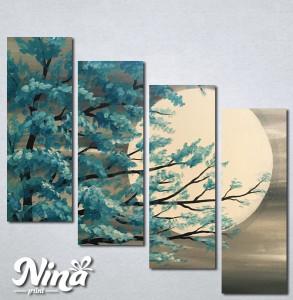 Slike na platnu Drvo i mesec Nina235_4