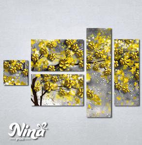 Slike na platnu Drvo žuto lišće Nina295_5