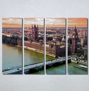 Slike na platnu Engleska London Nina30366_4