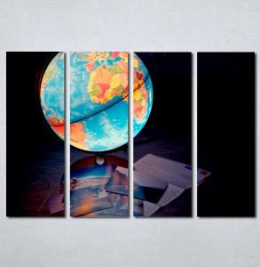 Slike na platnu Globus Nina213_4