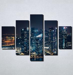Slike na platnu Gradovi nocu Nina158_5