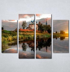 Slike na platnu Hram reka Nina137_4