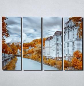 Slike na platnu Jesen u gradu Nina154_4