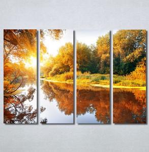 Slike na platnu Jezero u jesen Nina30368_4
