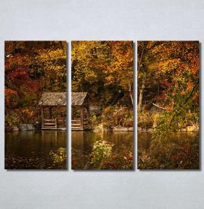Slike na platnu Kuća na jezeru Nina30374_3