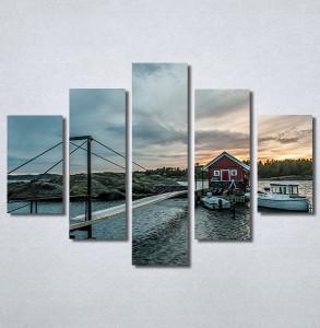 Slike na platnu Kuća na vodi Nina30356_5